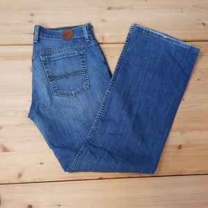 Lucky Brand, button fly, easy rider blue jeans, 29